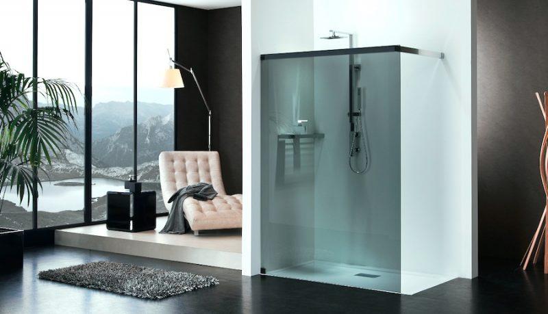 Cabine doccia walk-in di Duka completamente personalizzabili