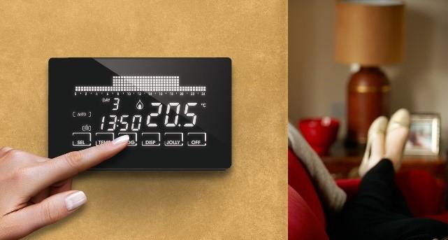Cronotermostato WiFi touchscreen