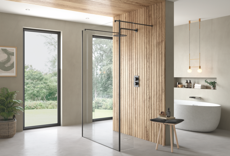 Lo spazio doccia walk-in Ayo di Flair conquista il Good Design Award