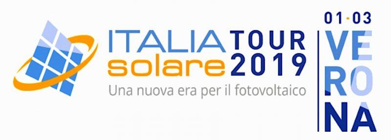Il tour Italia Solare 2019 parte da Verona