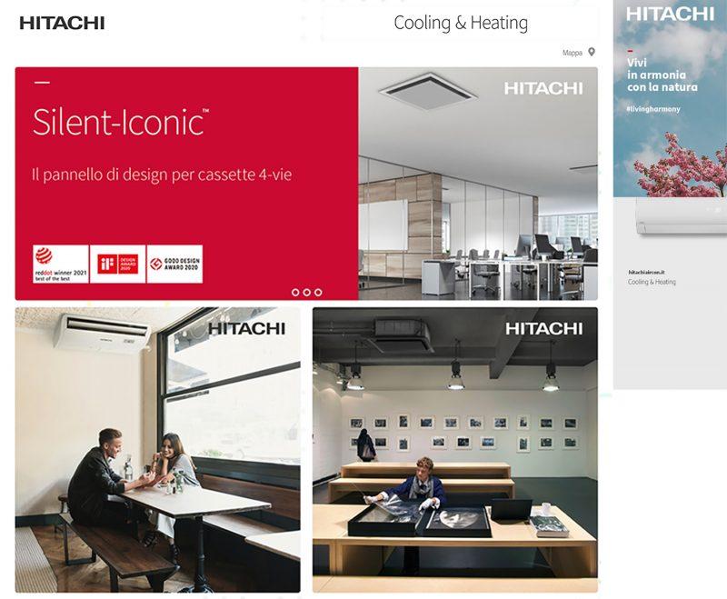 Noleggio climatizzatore con Hitachi Cooling & Heating