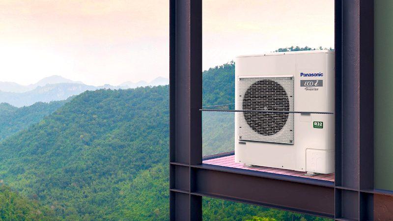 Efficienza e flessibilità con Panasonic Mini VRF ECOi R32