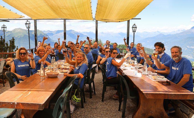 Watts: team building sul Lago di Como