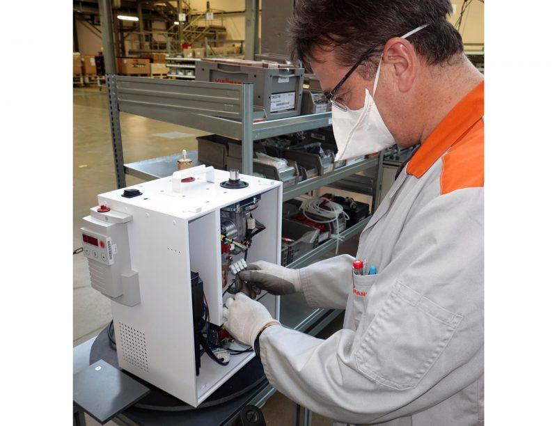 Viessmann converte linee di produzione per contrastare il Covid-19