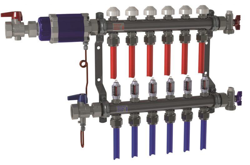 Bilanciamento sistemi di riscaldamento a pannelli radianti