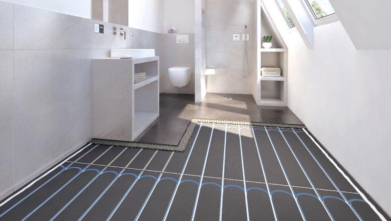 Riscaldamento a pavimento con pannelli radianti WediPreLine